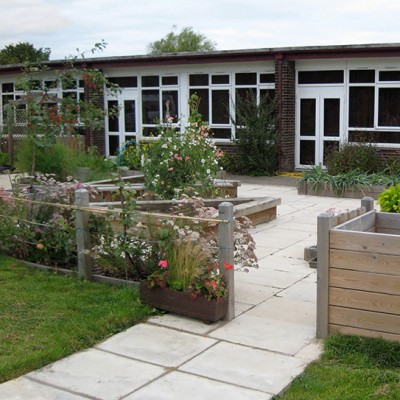 School accessible kitchen garden