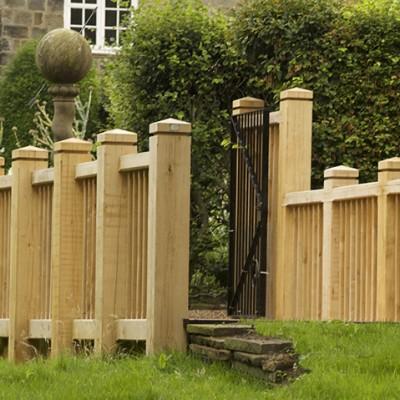 York Gate garden bridge