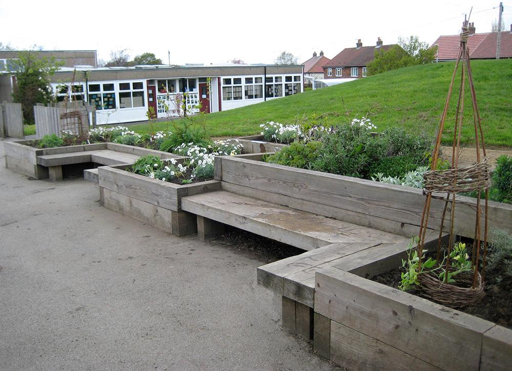 Sensory Garden Leeds School - Leeds Garden Designer