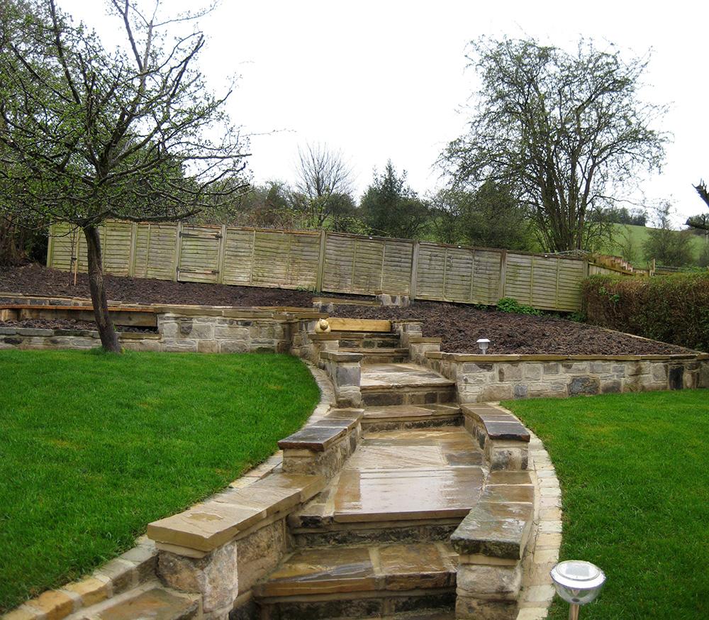 Domestic Garden Calverley, Leeds - Leeds Garden Designer