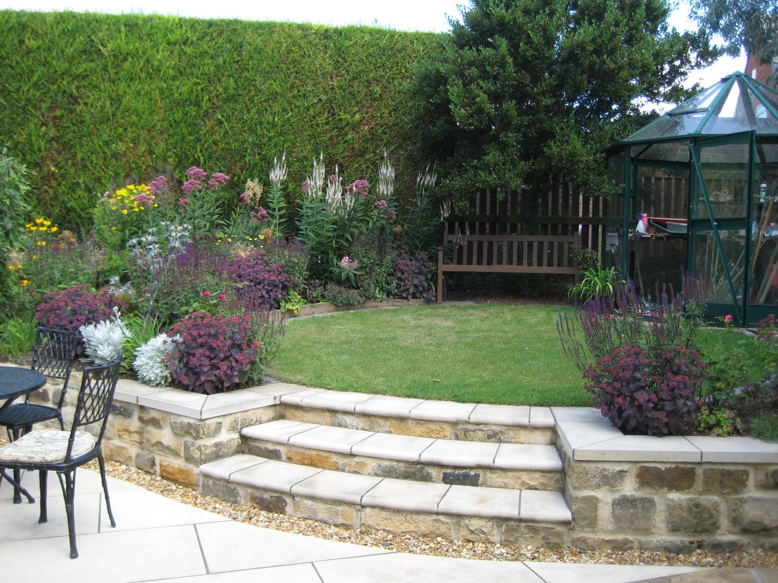 Back Garden Design, Alwoodley, Leeds - Leeds Garden Designer