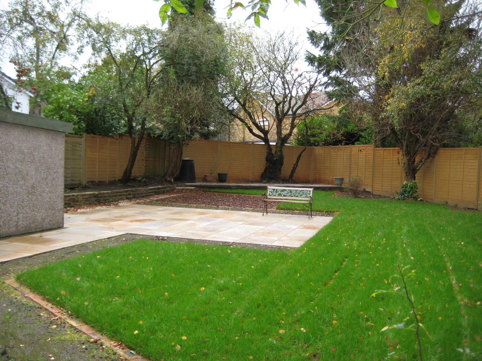 Back Garden Design , North Leeds - Leeds Garden Designer