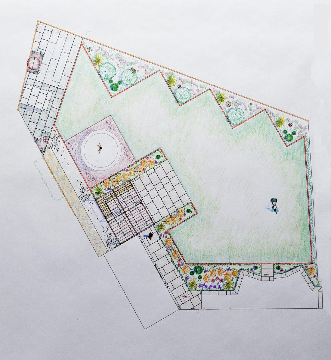 Back Garden Design , Shadwell, Leeds - Leeds Garden Designer