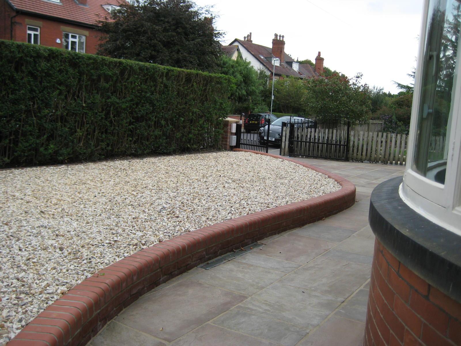 Drive and Low Maintenance Front garden, West Park, Leeds ...