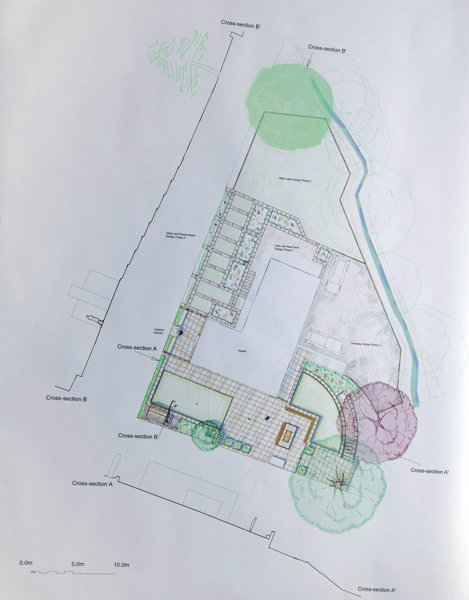 Proposed design for large Roundhay Garden, Leeds. - Leeds ...
