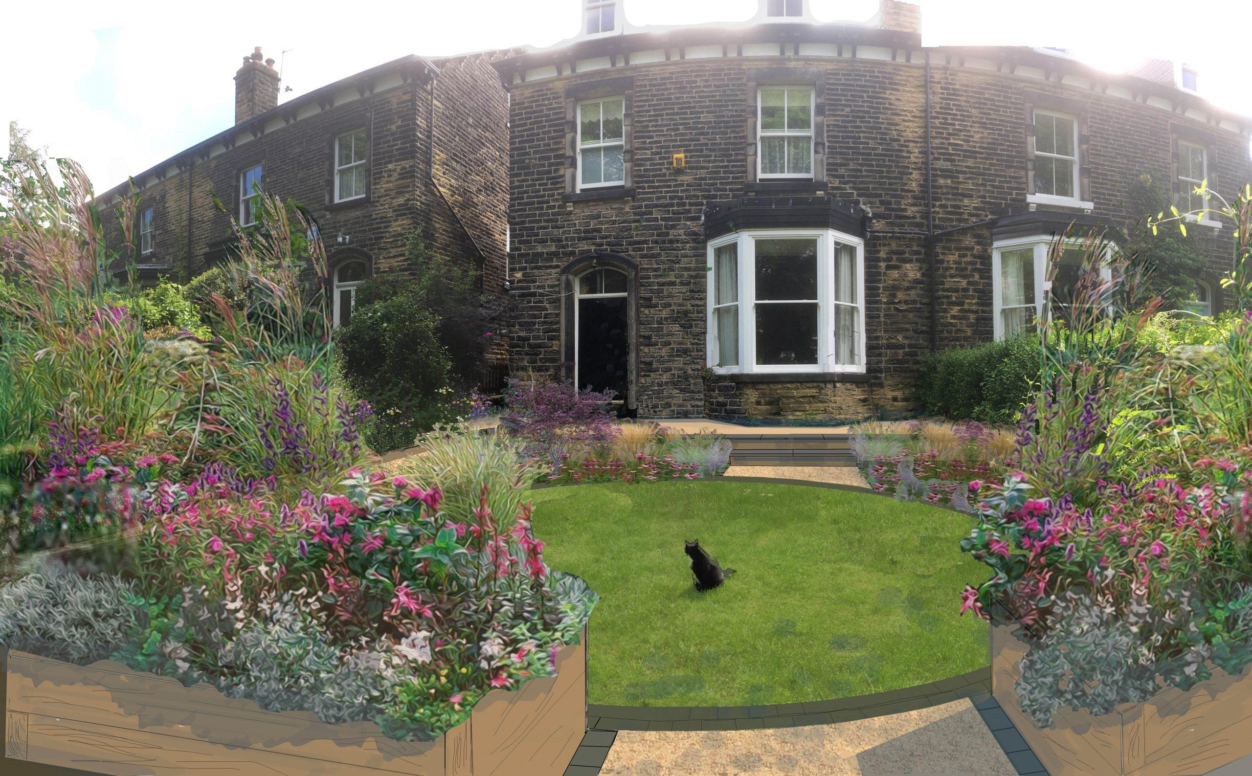 Naturalistic Styled Garden, Headingley, Leeds - Leeds ...